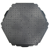 Dark Gray HexaDeck Turf Protection