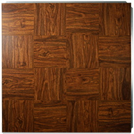 Wood Grain Event Dance Floor Kits XL