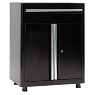 Black/BlackAmerican Heritage Base Cabinet w/Drawer