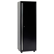 Black/BlackAmerican Heritage Single Door Tall Cabinet