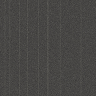 Charcoal StripeRule Breaker Carpet Tile