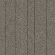 Nickel StripeRule Breaker Carpet Tile
