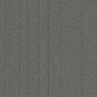 Pewter StripeRule Breaker Carpet Tile