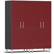 Ruby Red MetallicUlti-MATE Garage 2.0 Series 2-PC Tall Cabinet Kit