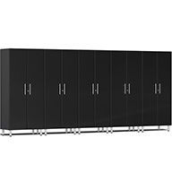 Midnight Black MetallicUlti-MATE Garage 2.0 Series 5-PC Tall Cabinet Kit