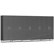 Graphite Grey MetallicUlti-MATE Garage 2.0 Series 5-PC Tall Cabinet Kit