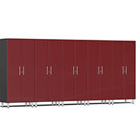 Ruby Red MetallicUlti-MATE Garage 2.0 Series 5-PC Tall Cabinet Kit