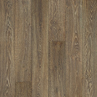 "StainedBlack Forest Oak 0.7"" x 1.5"" x 84"" End Cap"