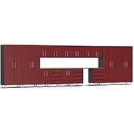 Ruby Red MetallicUlti-MATE Garage 2.0 Series 17-Piece Super-System