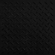 "Black5/8"" Diamond Plate Evolution Rubber Tiles"