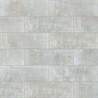 "Snow Crest Shaw Cosmopolitan 4"" x 12"" Wall Tile"