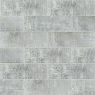 "Silver Frost Shaw Cosmopolitan 4"" x 12"" Wall Tile"