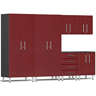 Ruby Red MetallicUlti-MATE Garage 2.0 Series 6-Piece Kit