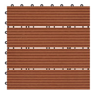 ClayNaturesort Deck Tiles - Terrace (4 Slat)