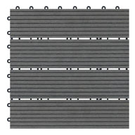 CementNaturesort Deck Tiles - Terrace (4 Slat)