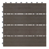 MochaNaturesort Deck Tiles - Terrace (4 Slat)