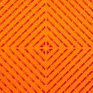 Tropical Orange Ribtrax Smooth Tiles