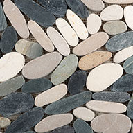 4 ColorEmser Tile Venetian Flat Pebbles