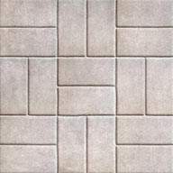 Brick WhiteStone Flex Tiles - Mosaic Collection