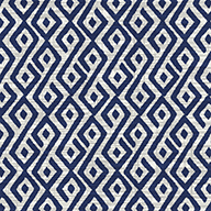 Blue/WhiteContours Outdoor Area Rug