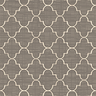 Taupe/WhiteGreco Outdoor Area Rug
