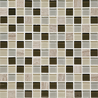 Evening Sky Squares 1 x 1Daltile Mosaic Traditions