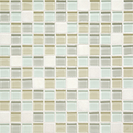 Oasis Squares 1 x 1Daltile Mosaic Traditions
