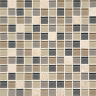 Skyline Squares 1 x 1Daltile Mosaic Traditions