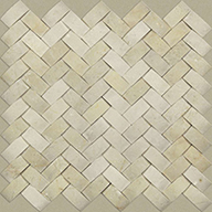 Woven Crema MarfilShaw Chateau Natural Stone Woven Tile