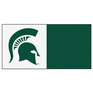 Michigan State University FANMATS NCAA Carpet Tiles