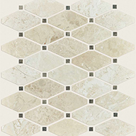 Diamond Honed Impero RealeShaw Rio Natural Stone Mosaic