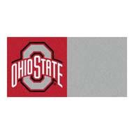 Ohio State University FANMATS NCAA Carpet Tiles