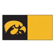 University of Iowa FANMATS NCAA Carpet Tiles