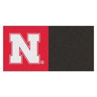 University of Nebraska FANMATS NCAA Carpet Tiles