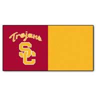 University of Southern California FANMATS NCAA Carpet Tiles