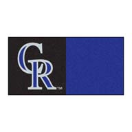 Colorado RockiesFANMATS MLB Carpet Tiles