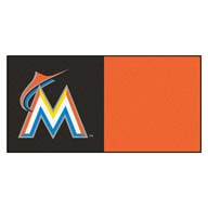Florida MarlinsFANMATS MLB Carpet Tiles