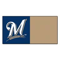 Milwaukee BrewersFANMATS MLB Carpet Tiles