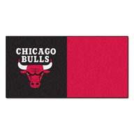 Chicago Bulls FANMATS NBA Carpet Tiles