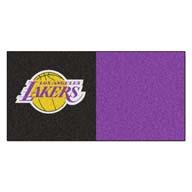 Los Angeles Lakers FANMATS NBA Carpet Tiles