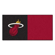 Miami Heat FANMATS NBA Carpet Tiles