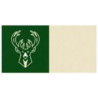 Milwaukee Bucks FANMATS NBA Carpet Tiles