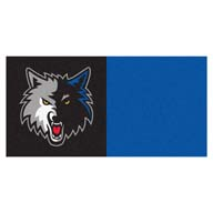 Minnesota Timberwolves FANMATS NBA Carpet Tiles