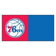 Philadelphia 76ers FANMATS NBA Carpet Tiles