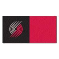 Portland Trail Blazers FANMATS NBA Carpet Tiles