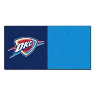 Oklahoma City Thunder FANMATS NBA Carpet Tiles