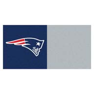 New England Patriots FANMATS NFL Carpet Tiles