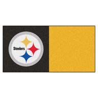 Pittsburgh Steelers FANMATS NFL Carpet Tiles