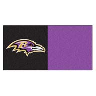 Baltimore Ravens FANMATS NFL Carpet Tiles