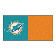 Miami Dolphins FANMATS NFL Carpet Tiles